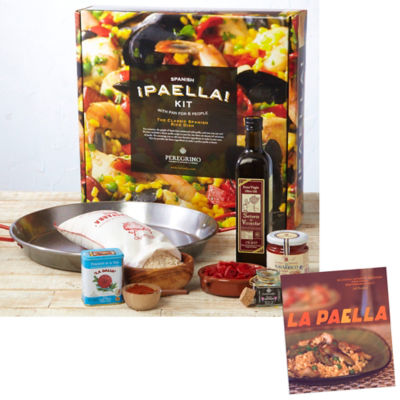 Traditional Paella Kit with Paella Cookbook