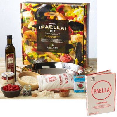 Deluxe Paella Kit with Paella Cookbook
