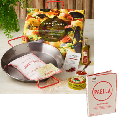 Mini Paella Kit in Gift Box Plus Paella Cookbook