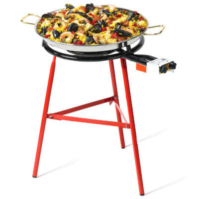 XL Paella Burner with Three Rings - For Pans Up to 36 Inches