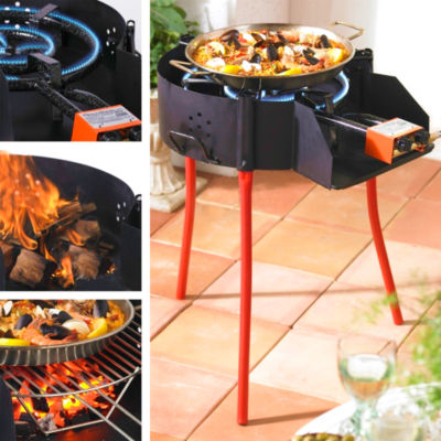 Medium Paella Grill System with Burner