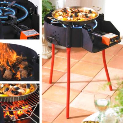 Medium Paella Grill System with Burner