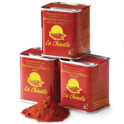 3-Pack of Smoked Pimenton Paprika