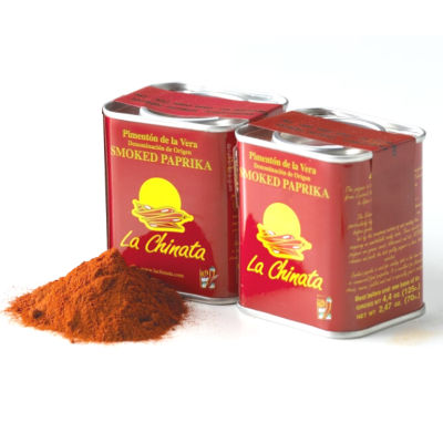 Hot Smoked Paprika (2 Tins)