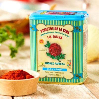 2 Tins of Sweet (Mild) Smoked Paprika by La Dalia