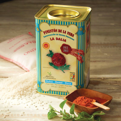 Sweet (Mild) Smoked Paprika by La Dalia (Extra Large Tin)