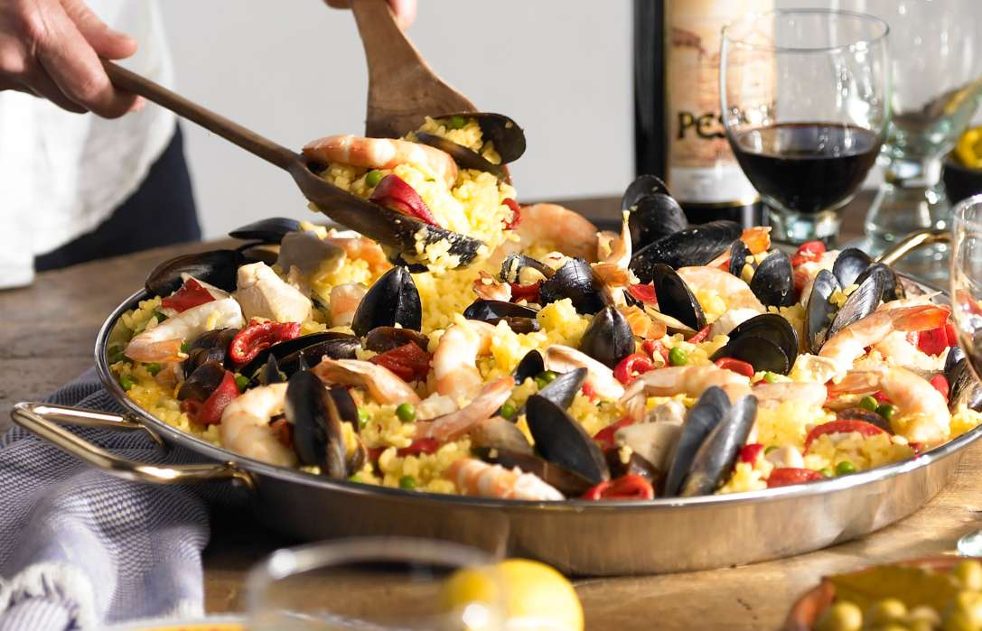 Authentic spanish food recipes for dishes dinners cooking popular paellas forumfinder Gallery
