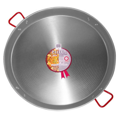 XL - 32 Inch Traditional Steel Paella Pan - Serves 30 to 40