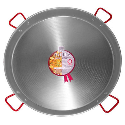 XL - 36 Inch Traditional Steel Paella Pan - Serves 40 to 50