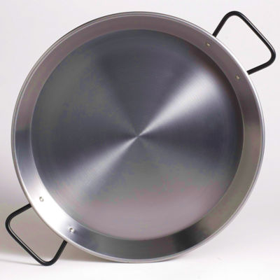 13 Inch 'Pata Negra' Double Gauge Steel Paella Pan - Serves 4