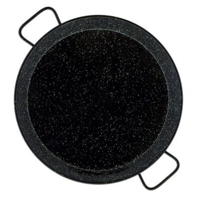 20 Inch Enameled Steel Paella Pan - Serves 10-12