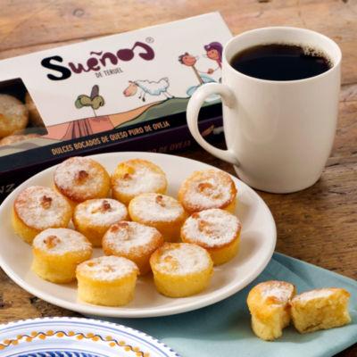 Sueños de Teruel - Cheesecake Pastries