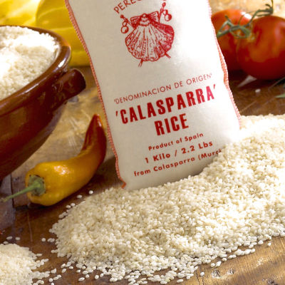 2 Packages of Calasparra Paella Rice by Peregrino
