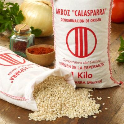 Semi Brown Calasparra Paella Rice
