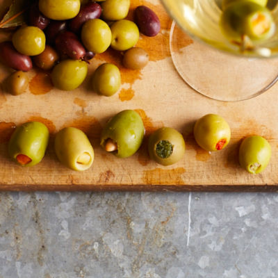Ultimate Martini Olive Set