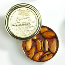 Mejillones en Escabeche 'Los Peperetes' - Mussels in Vinegar