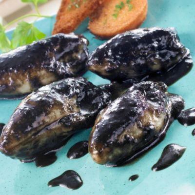 Chipirones en su Tinta - Baby Squid in Black Ink Sauce