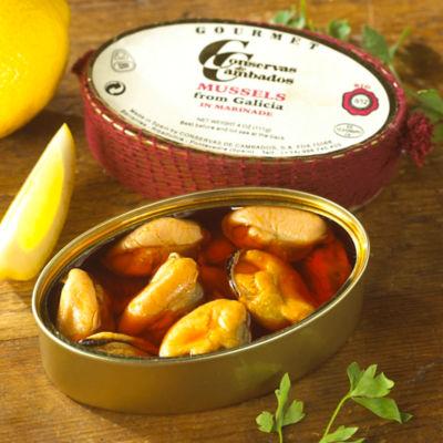 Mejillones en Escabeche by Conservas de Cambados