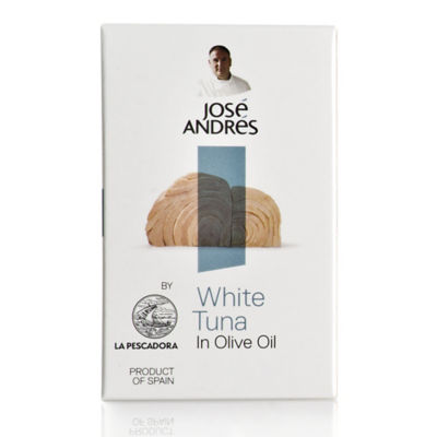 White Tuna in Olive Oil by José Andrés Foods - 2.85 Ounce Tin