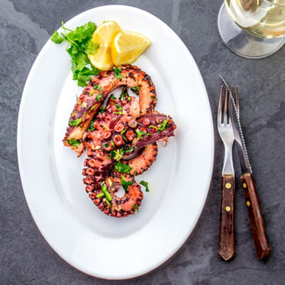 Pulpo - Tender Octopus from Spain
