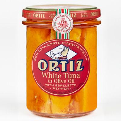 Bonito del Norte Tuna with Espelette Peppers by Ortiz