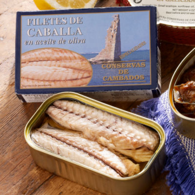 3 Tins of Filetes de Caballa by Conservas de Cambados