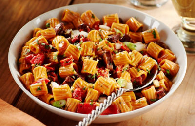 Smoked Paprika Pasta Salad with Chorizo & Piquillos Recipe