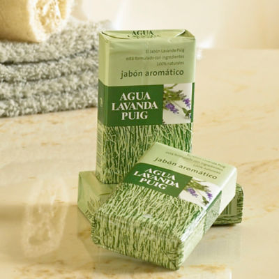 3 Bars of Lavanda Puig Soap