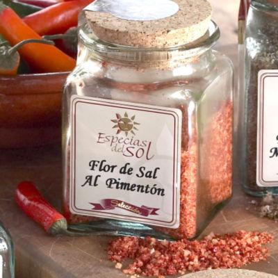 Flor de Sal al Pimenton de la Vera