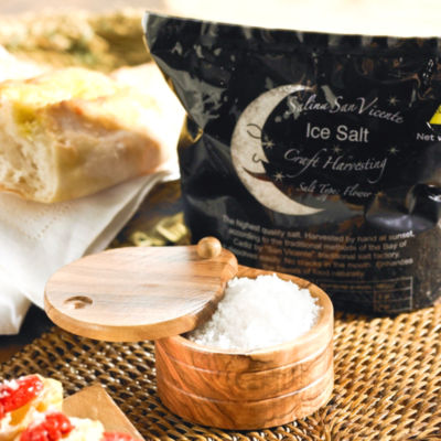 Flor de Sal - Sea Salt by Salina San Vicente (2.2 Pounds)