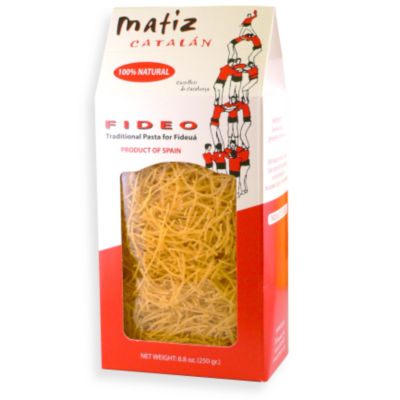 Traditional Fideo Pasta for Fideua