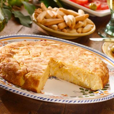Extra Large 'Tortilla Espanola' Potato Omelet