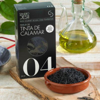 Fideuá de Tinta de Calamar - Black Fideo Pasta