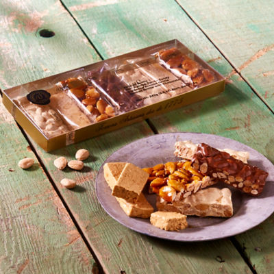 Turrón Tasting Gift Set by Vicens - 7 Mini Bars