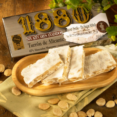 Sugar Free Crunchy Alicante Turron Candy by 1880