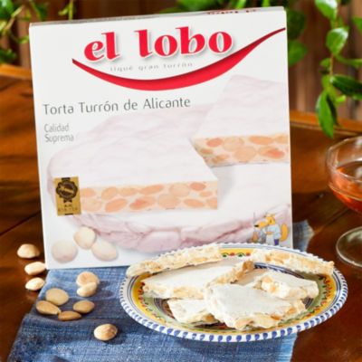 2 Boxes of Crunchy Alicante Torta Turrón Candy by El Lobo