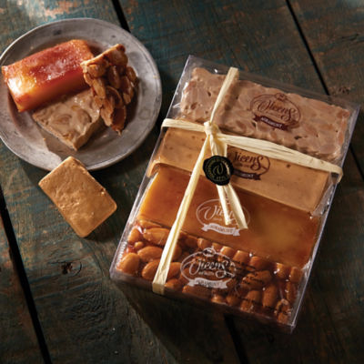Turrón Tasting Gift Box by Vicens - 4 Medium Bars