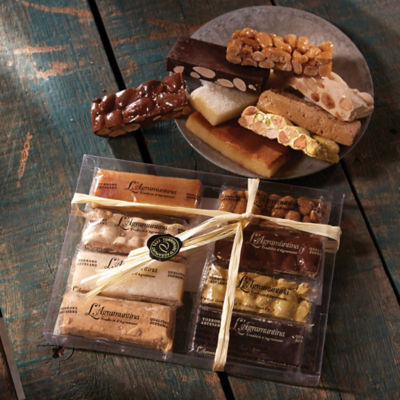 Turrón Tasting Gift Set by Vicens - 8 Mini Bars