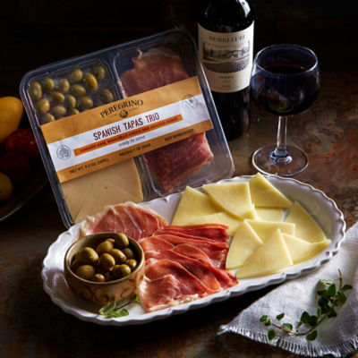 Tapas Tasting Tray with Cracked Olives