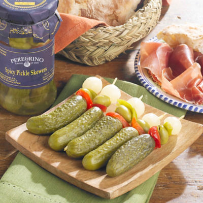 Banderillas en Vinagre - Spicy Pickle Skewers