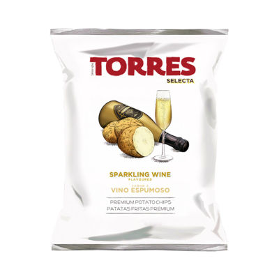 6 Packages of Sparkling Wine Potato Chips by Torres