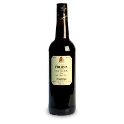 Colosia Oloroso Sherry by Bodegas Gutierrez